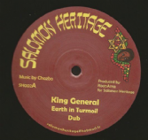 King General - Earth In Turmoil / Ras Tweed - Stick It Up (Salomon Heritage) EU 12""